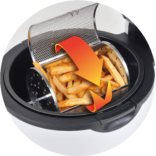 Air Fryer with Chip Air Fry Barrel