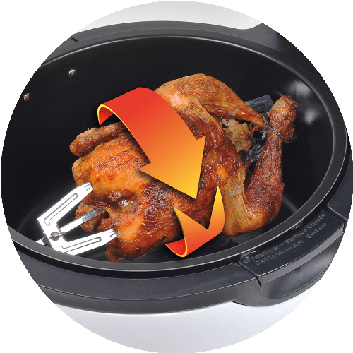 Air Fryer with Chicken rotisserie