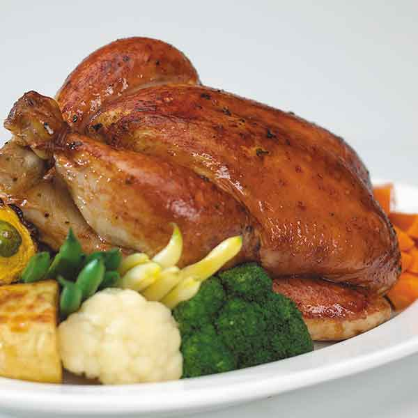 Roast Chicken with Stuffing Air Fryer Recipe